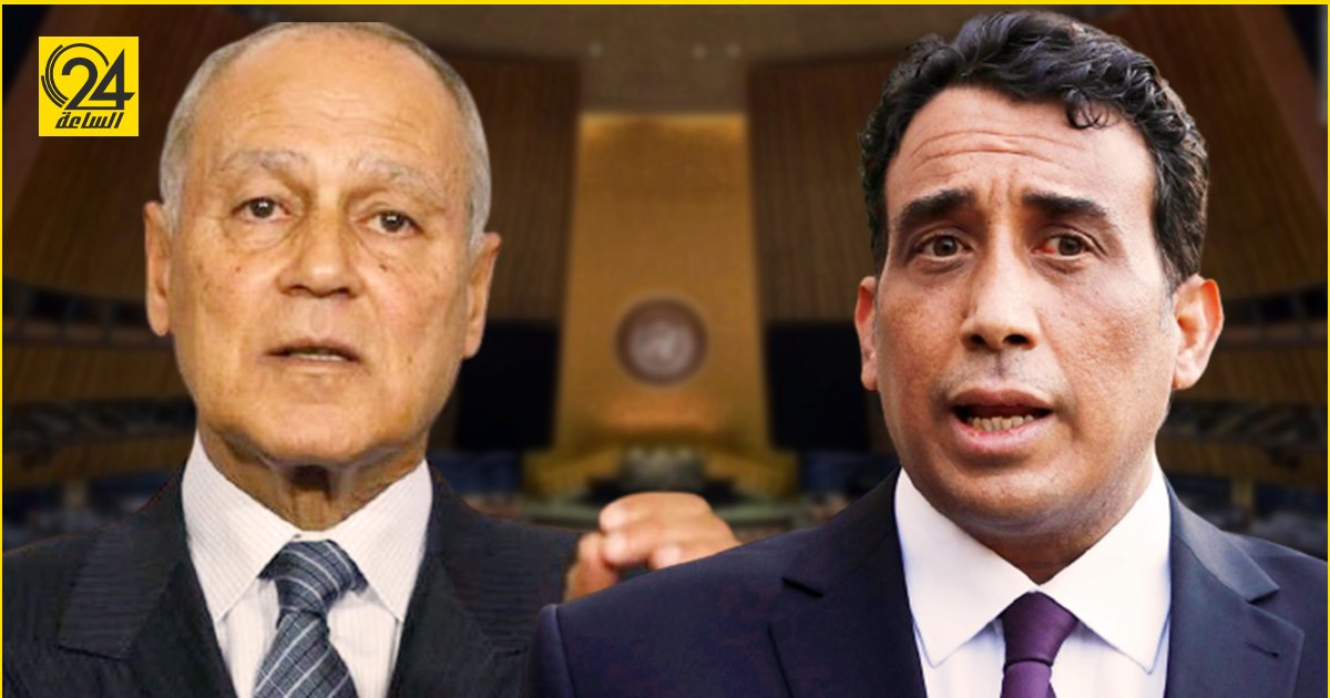 أبو الغيط يبحث مع المنفي تداعيات سحب الثقة من الحكومة