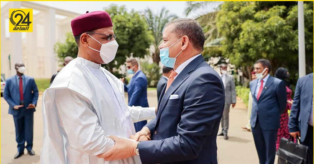 خلال لقائه رئيس جمهورية النيجر.. «الدبيبة»: الأخوة والدم تتجاوز الجغرافيا والحدود