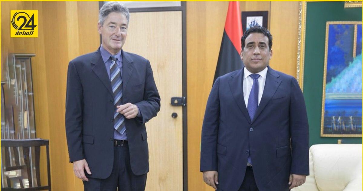 خلال لقائه بـ«المنفي».. «السفير الألماني»: أكدنا على ضرورة الالتزام بالانتخابات في موعدها المحدد