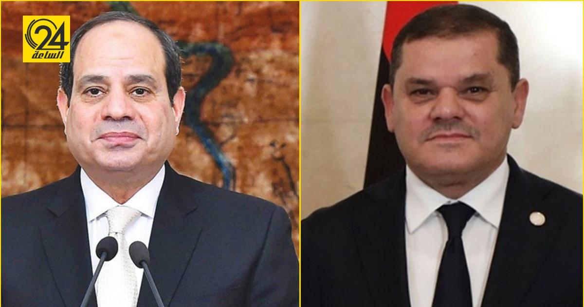 الرئيس السيسي يستقبل الدبيبة اليوم بقصر الاتحادية في القاهرة