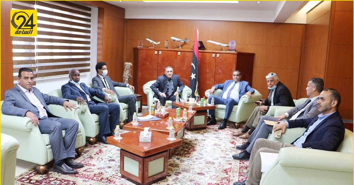 ليبيا، مالطا، وزاره المواصلات، السفير المالطي
