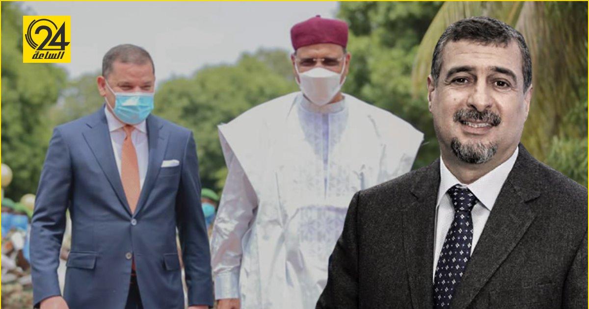 «العرادي»: زيارة «الدبيبة» إلى النيجر «خطوة ذكية»