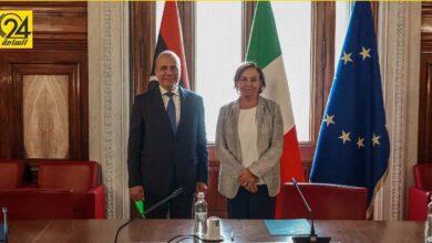 اللافي: يجب استمرار التعاون الأمني مع إيطاليا