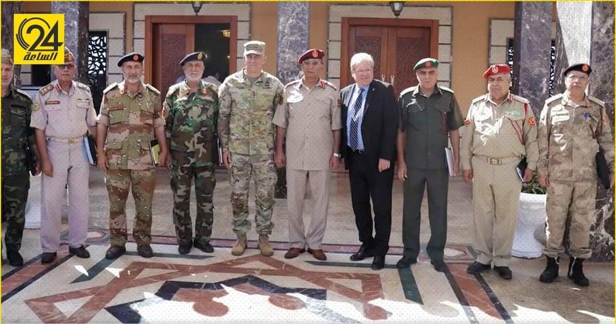 """السفارة الأمريكية: لقاء قائد الأفريكوم بلجنة 5+5 في طرابلس """" خطوة تاريخية"""""""
