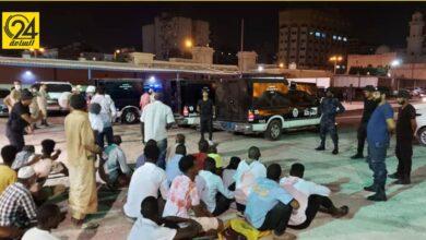 ضبط 69 مهاجرا غير شرعي بالمدينة القديمة في طرابلس