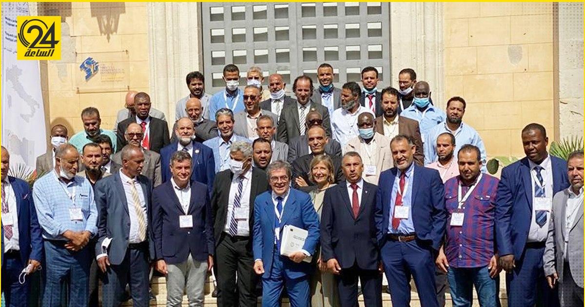 عمداء البلديات الليبية يعقدون اجتماعاتهم في إيطاليا