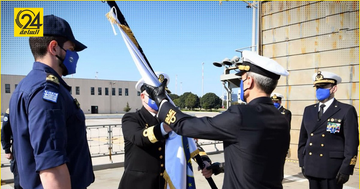 """قائد جديد لـ """" عملية إيريني"""" المكلفة بتنفيذ حظر الأسلحة إلى ليبيا"""