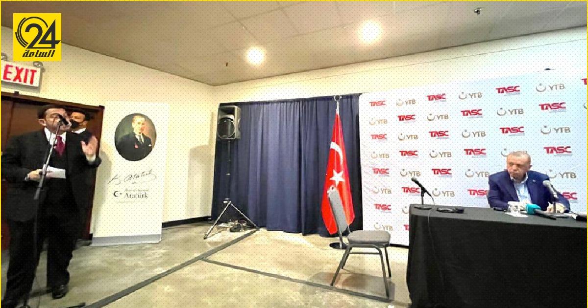 «عميش»: شكرت «أردوغان» على دور تركيا «الإيجابي العظيم» في ليبيا الأم