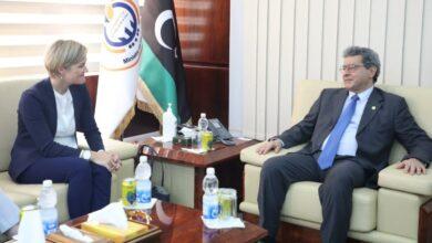 «عون» لـ«السفيرة البريطانية»: نتمنى لكِ إقامة طيبة في ليبيا تمنحك القدرة على مساعدتنا