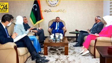 وزير الصناعة لـ«السفير الإيطالي»: الوضع في ليبيا مستقر يسمح بعودة نشاط شركاتكم