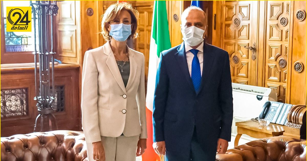 اللافي يشيد بدور إيطاليا في دعم الاستقرار السياسي والأمني في ليبيا