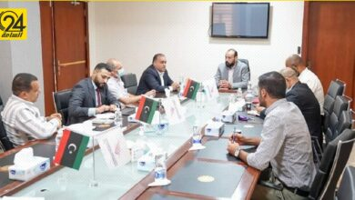 «أبو جناح» يبحث أعمال توسعة شبكة الاتصالات بالمنطقة الجنوبية