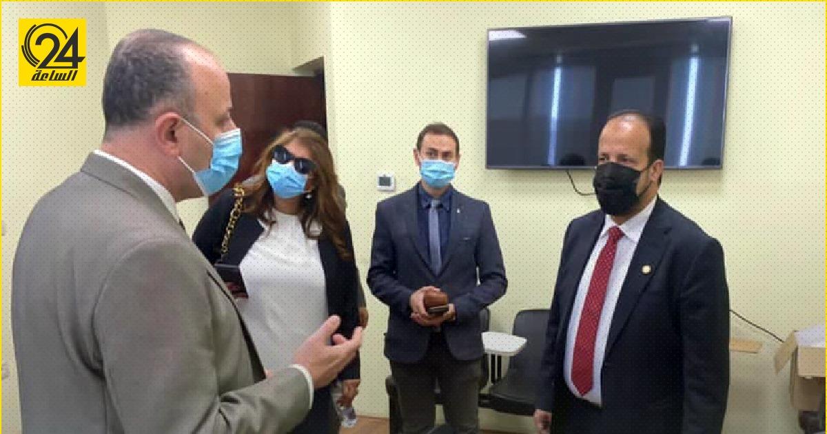 الزناتي يتفق على إرسال الأطفال الليبيين المصابين بالضمور العضلي للعلاج في مصر