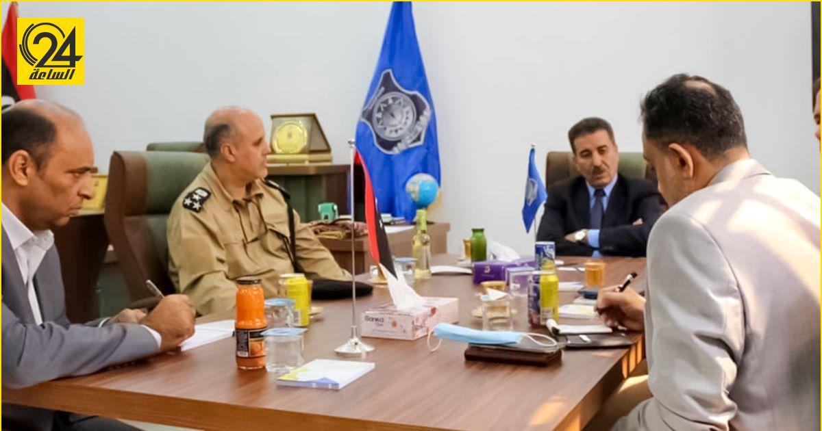 وزارة الداخلية تبحث مع البعثة الأممية الاستعدادات الأمنية للانتخابات المقبلة