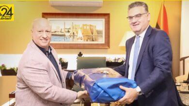 صوان: ناقشتُ مع سفير اليونان آليات دعم استقرار ليبيا وإجراء الانتخابات في موعدها