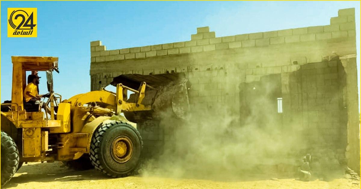 """الداخلية: بدء المرحلة الثانية لإزالة التعديات على أراضي الدولة بـ""""قصر خيار"""""""