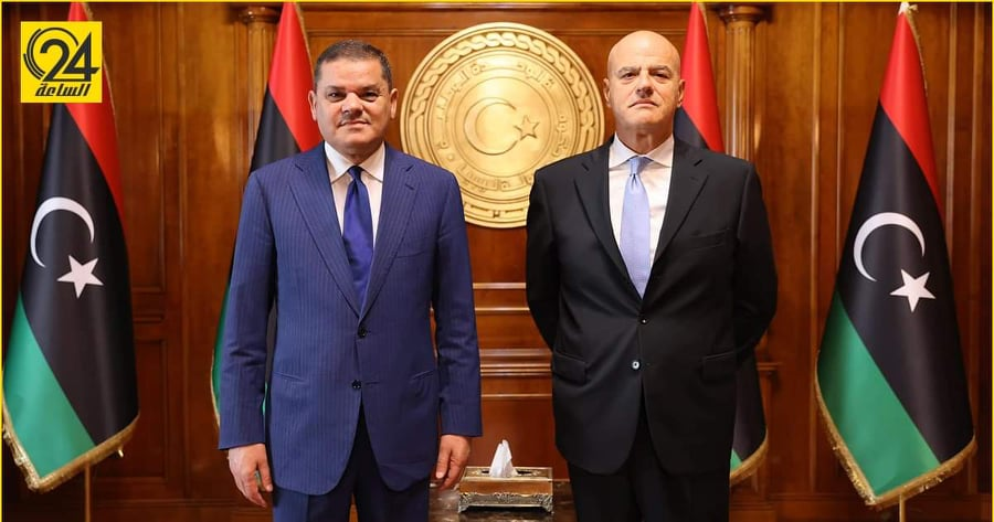 """الدبيبة: يجب خلق فرص عمل لليبيين ضمن مشاريع """"إيني"""""""