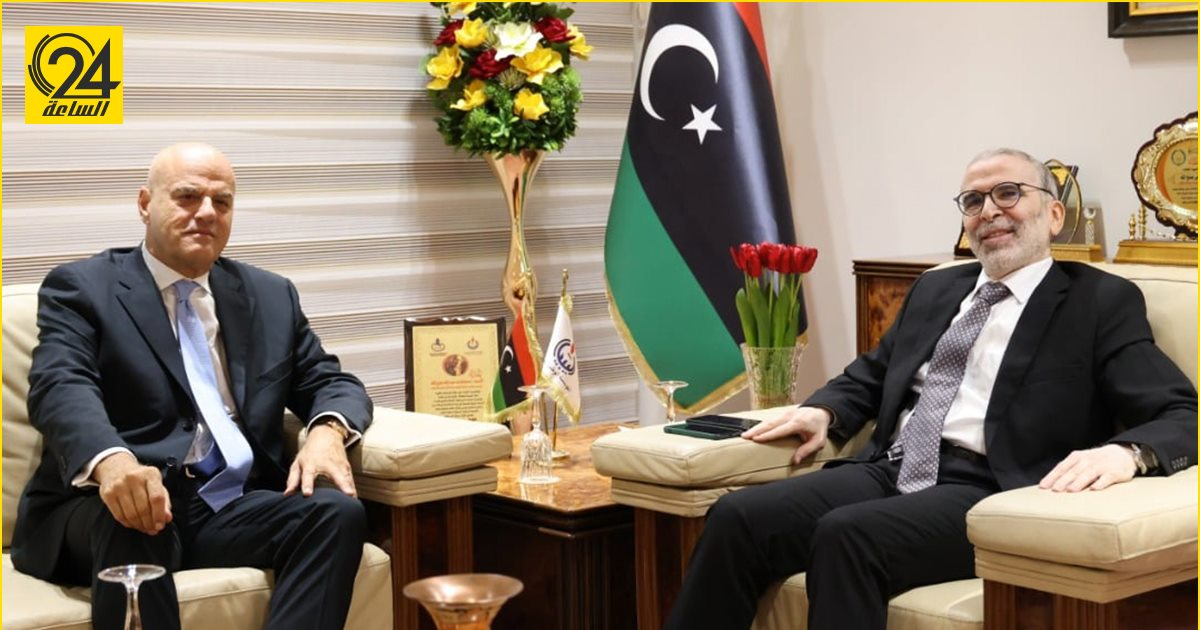 شركة «إيني» تتعهد بمواصلة تقديم الصدقات في مواجهات كورونا داخل ليبيا