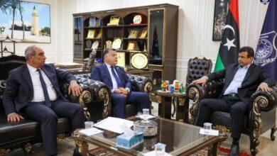 «أبو جناح» يبحث مع وزير الداخلية استعدادات تأمين الانتخابات القادمة