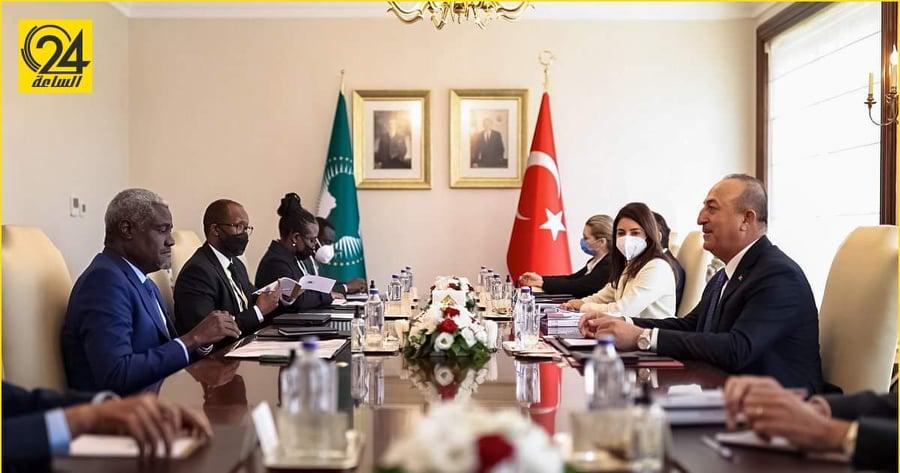 رئيس مفوضية الاتحاد الأفريقي: الكثير من المليشيات في ليبيا.. ونحتاج إلى تركيا