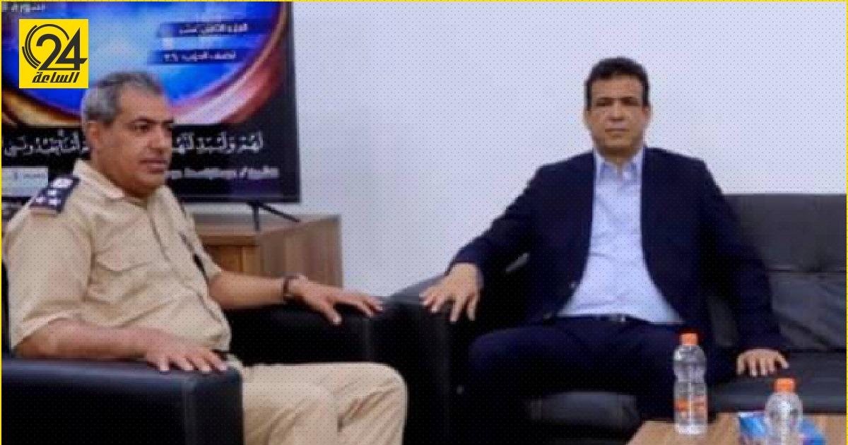 """مدير أمن سبها يبحث مع """"أبو جناح"""" أبرز المشاكل الأمنية بالجنوب"""