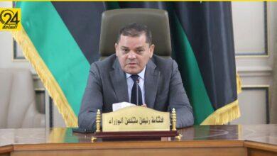 """""""الدبيبة"""" يتهم دولاً """"لم يسمها"""" بالسعي لتقسيم ليبيا"""