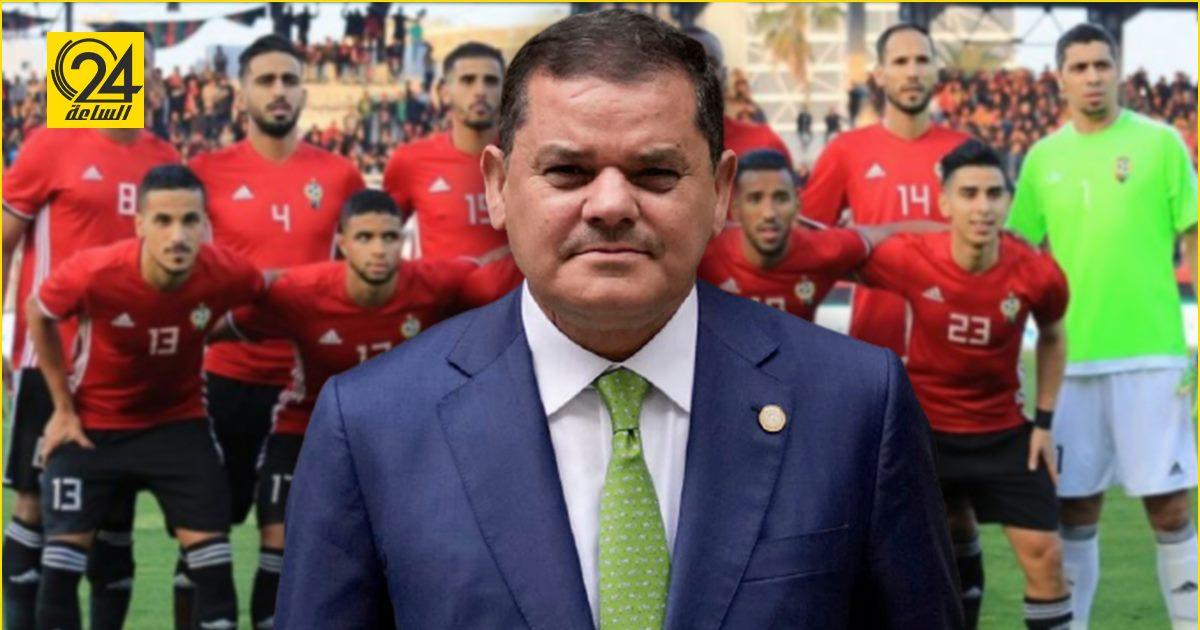الدبيبة للمنتخب قبل لقاء نظيره المصري: قيموها بينا يا ولاد شعبكم يستاهل الفرحة