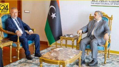 المشري يبحث مع السفير التركي قوانين الانتخابات في ليبيا