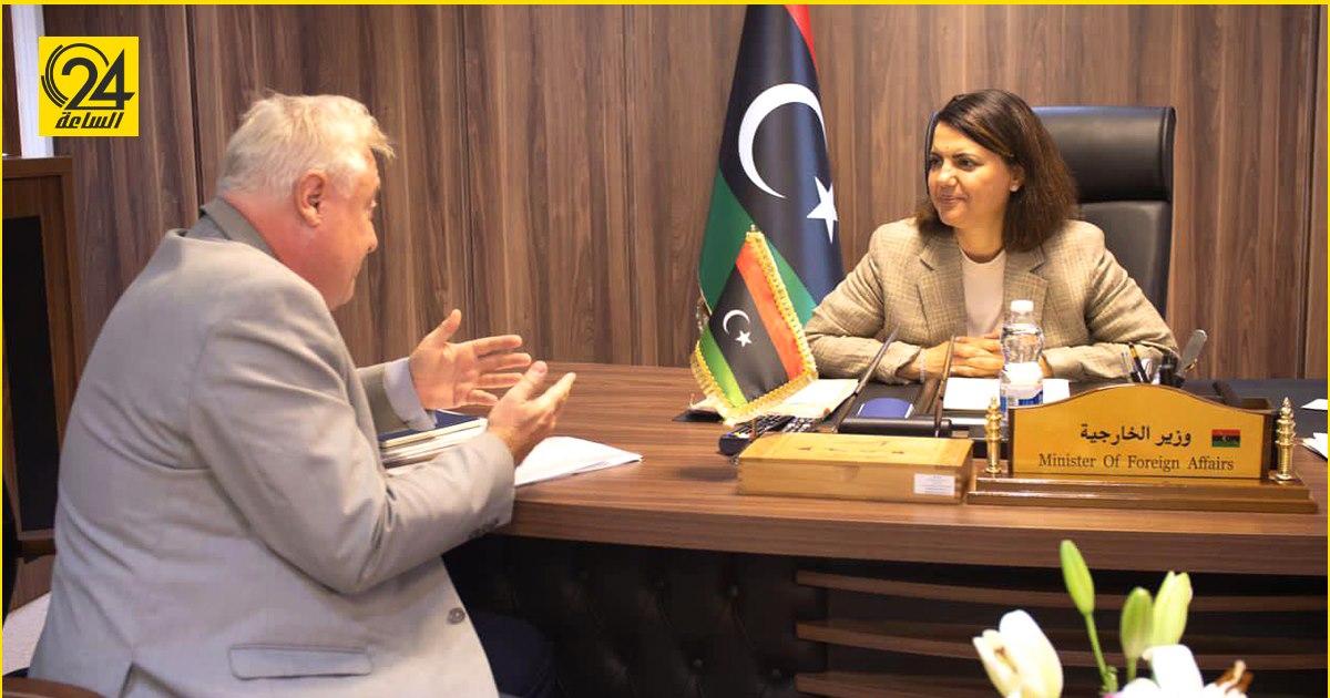 المنقوش تطلب من النمسا حماية الحدود الليبية