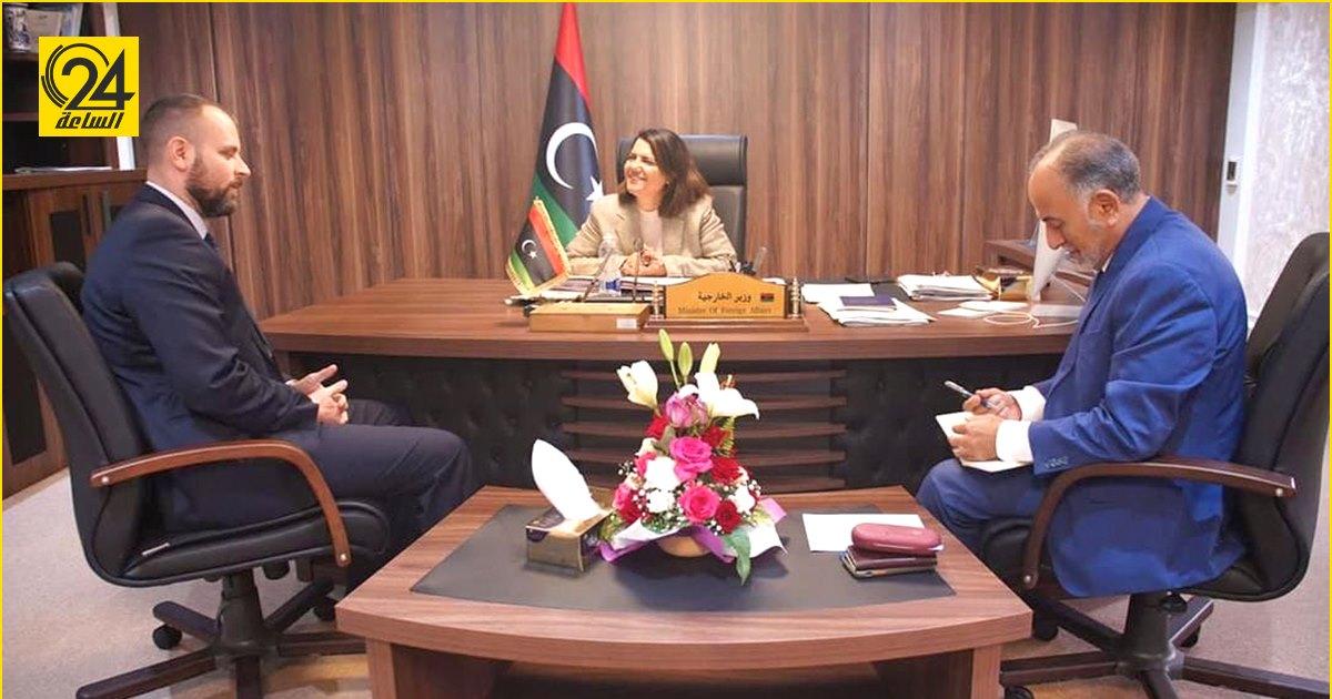 نجلاء المنقوش: أتطلع أن يكون صوت المجر داعماً لليبيا