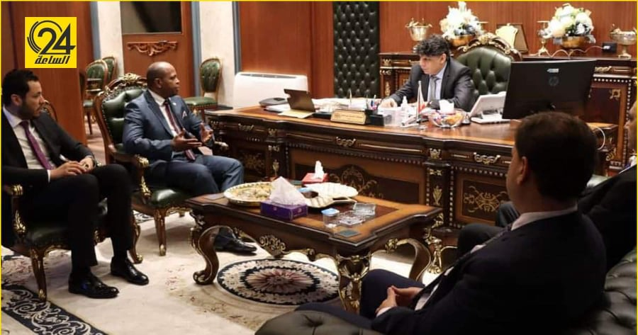 """النائب العام يبحث التنسيق مع """"الخارجية"""" بشأن القضايا الدولية"""
