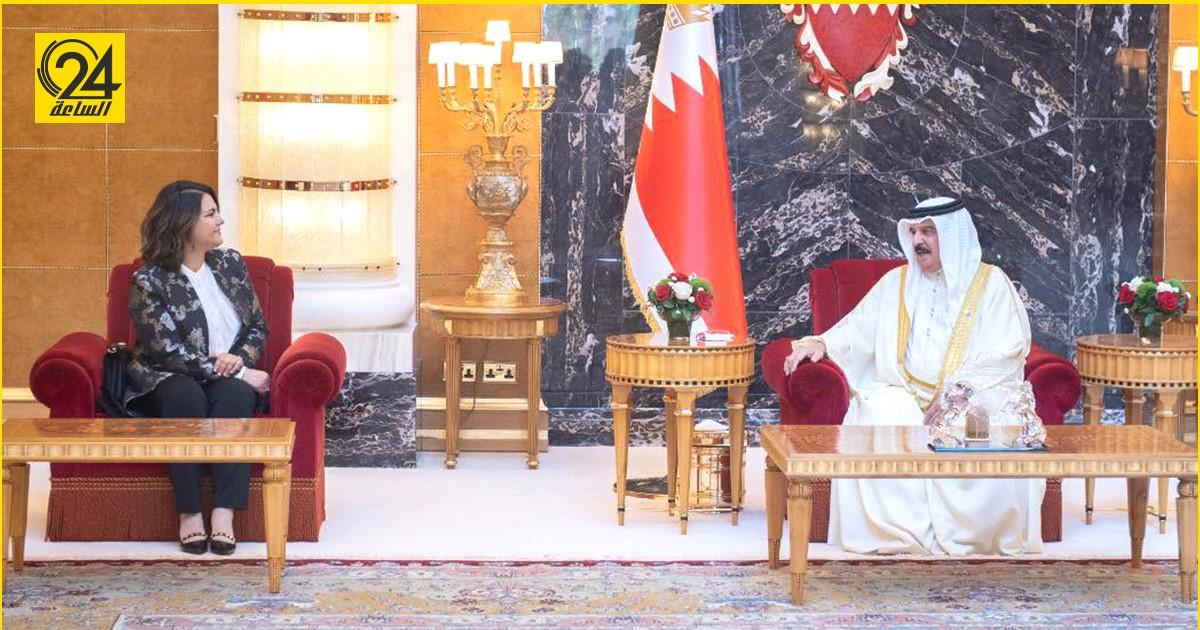 """ملك البحرين لـ """" المنقوش"""": مفتاح الاستقرار في ليبيا يعتمد على الحوار والحكمة"""