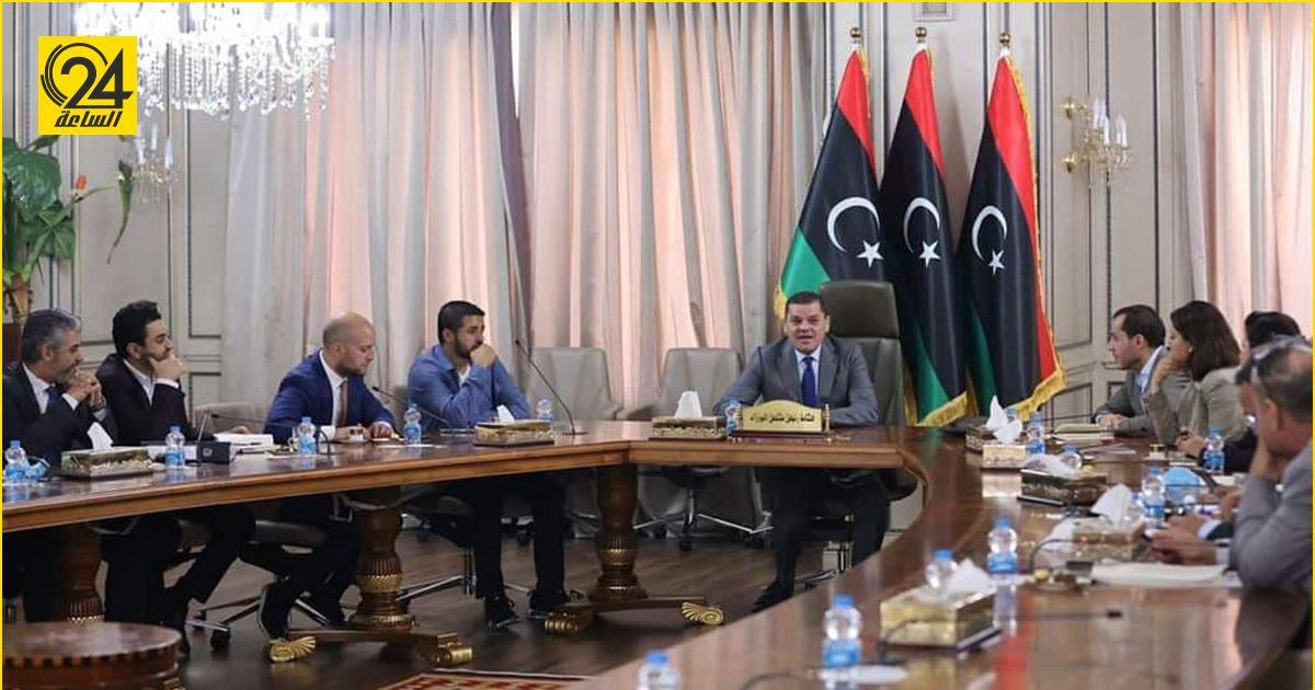 الدبيبة يلتقي اللجنة التحضيرية لمؤتمر استقرار ليبيا