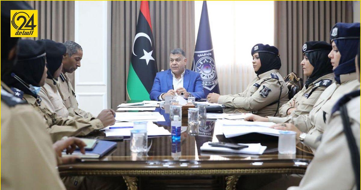 وزير الداخلية يبحث مع زميلاته تطوير الشرطة النسائية في ليبيا