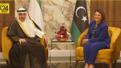 وزير الخارجية الكويتي يصل طرابلس للمشاركة في مؤتمر مبادرة استقرار ليبيا