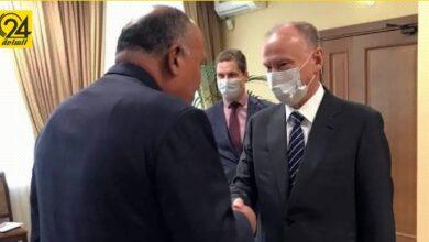 شكري يبحث مع سكرتير مجلس الأمن الروسي أهمية عقد الانتخابات الليبية