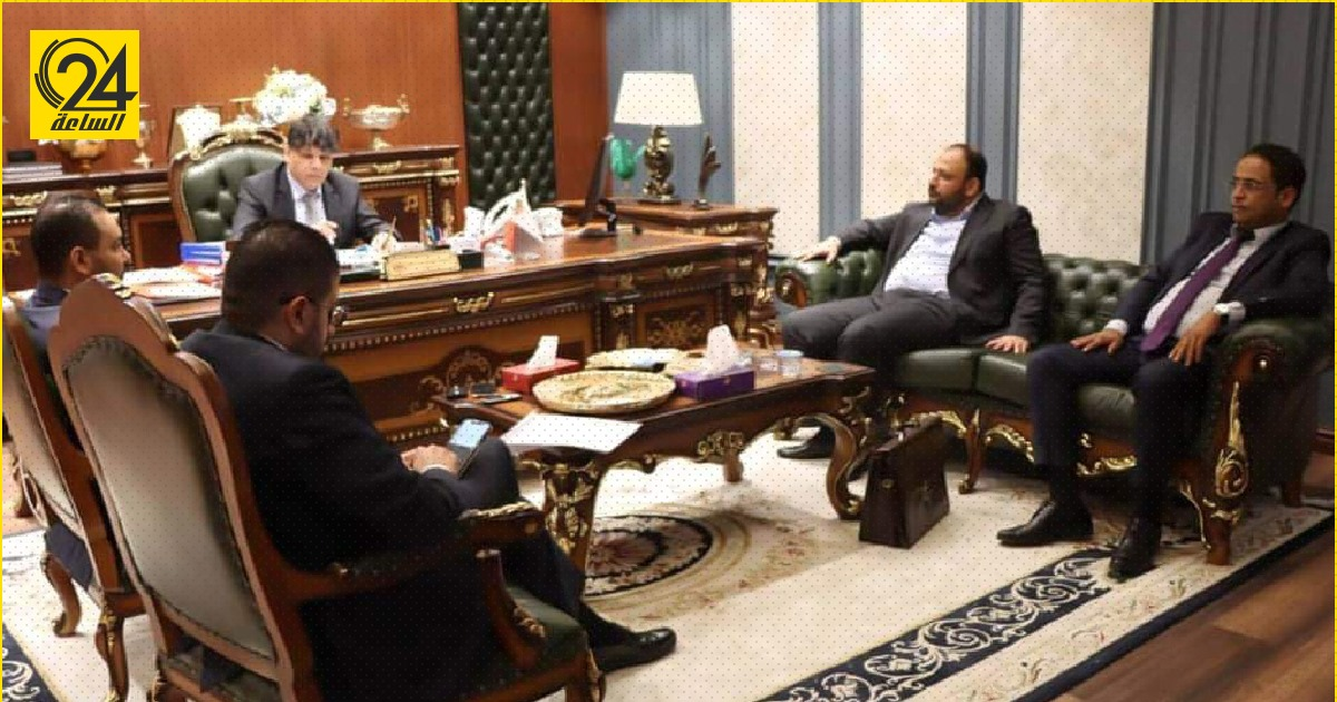 وزير الشباب يلتقي بالنائب العام لمتابعة سير تنفيذ مبادرة تيسير الزواج بالبلديات