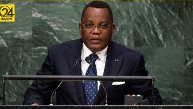 وزير خارجية الكونغو برازافيل يصل إلى مطار معيتيقة
