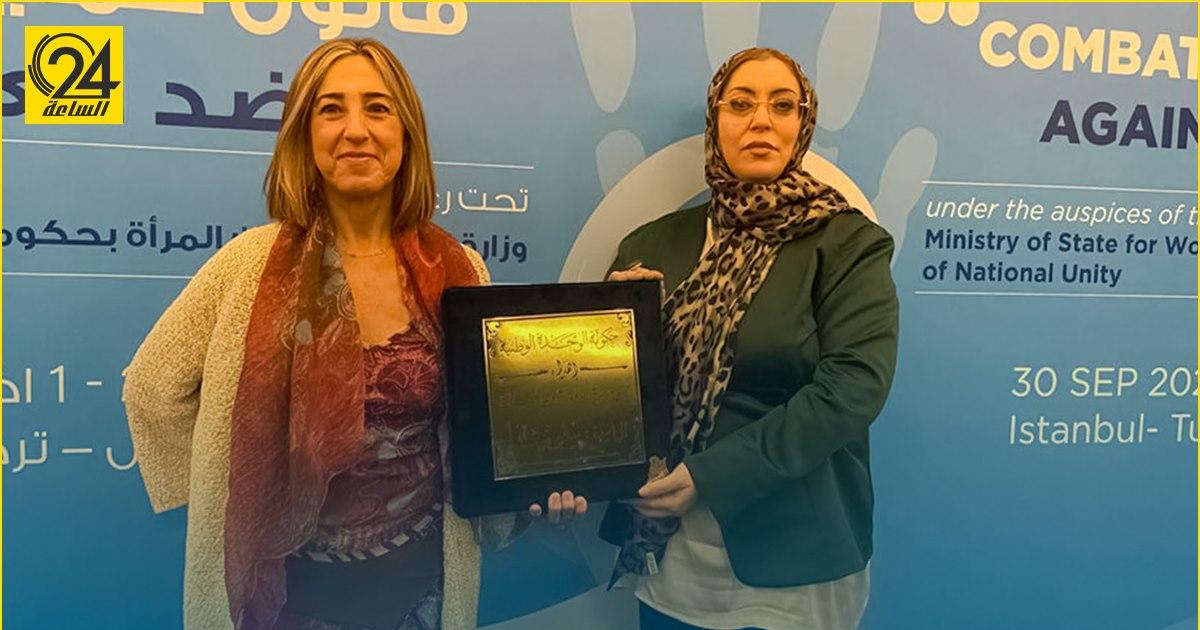 حورية طرمال تشارك في وضع مشروع «قانون حماية المرأة» بتركيا