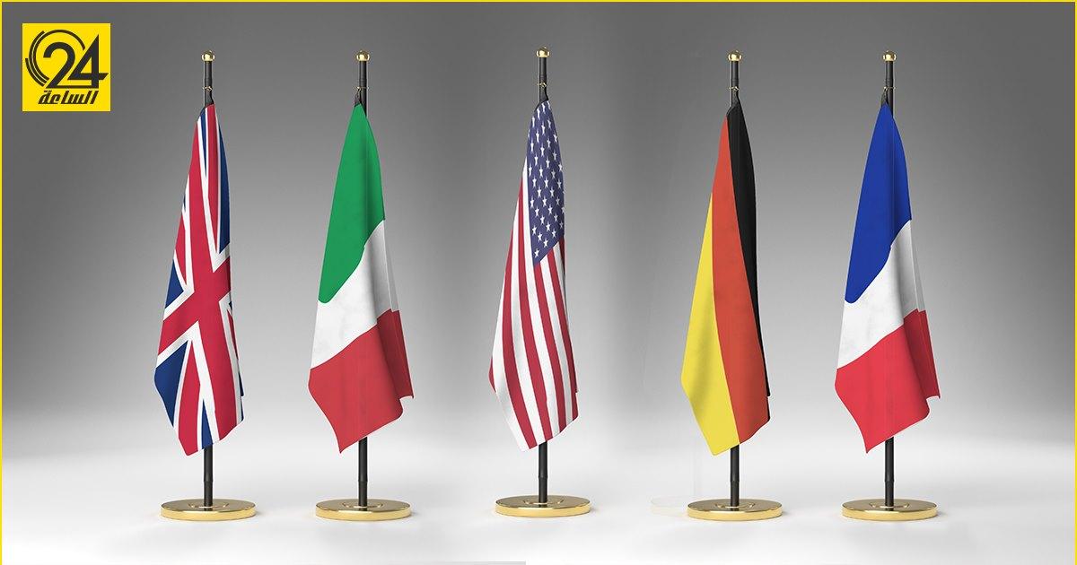 سفارات 5 دول أوروبية ترحب بخطة لجنة «5+5» لسحب المرتزقة والقوات الأجنبية من ليبيا