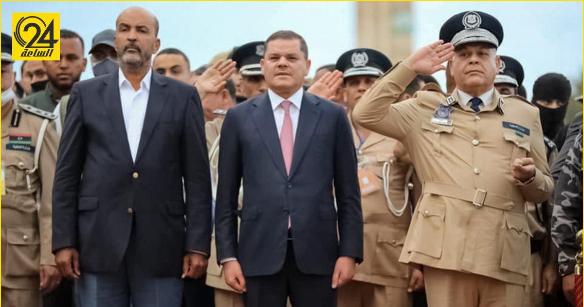 الدبيبة في عيد الشرطة الـ57: دور الجهاز الأمني مهم في تنمية واستقرار ليبيا