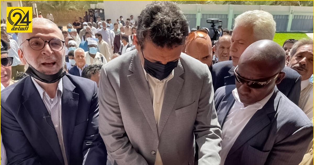 """أبو جناح يفتتح مستشفى بـ""""أبو قدقود"""" ويشكر """"الوطنية للنفط لتجهيزها"""