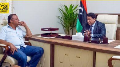 المنفي يلتقي طلال ميهوب لبحث ملف توحيد المؤسسة العسكرية