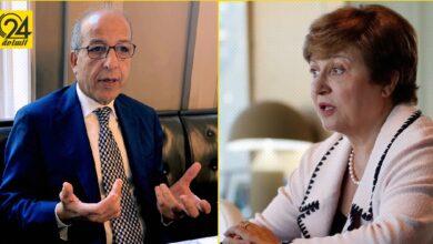 الصديق الكبير يطلب من صندق النقد الدولي دعمه لإنعاش الاقتصاد الليبي