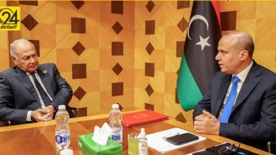اللافي لـ«أبوالغيط»: ليبيا دخلت تاريخ جديد بـ«مؤتمر مستقبل ليبيا»