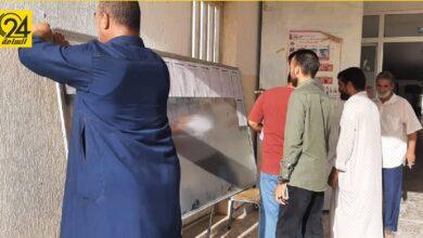 مفوضية الانتخابات تبدأ في نشر قوائم سجل الناخبين بمراكز الاقتراع
