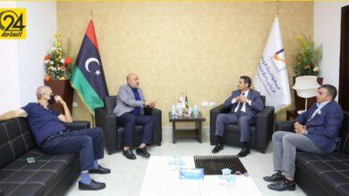 عماد السائح يبحث مع عميد بلدية طرابلس دعم تنظيم انتخابات 24 ديسمبر